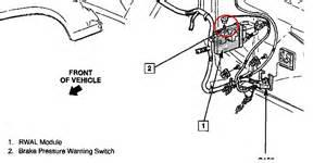 Brake Assist System Inoperative Chevrolet Silverado 1500 Questions Rear Brake Lights Not