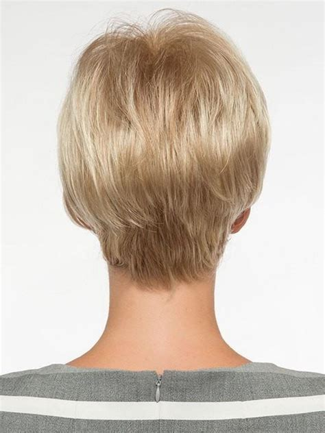 ladies tapered neckline angel by envy short wig wigs com the wig experts