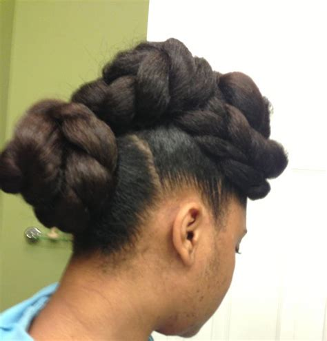 natural updo hairstyles for black women using kanekalon hair 17 best images about beauty natural hair braided styles