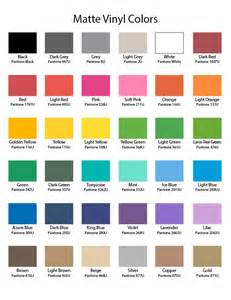 all the colors in the world and their names color chart wall decal world