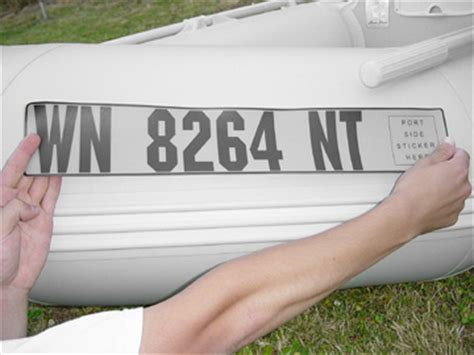 inflatable boat number plate registration numbers for boats product description
