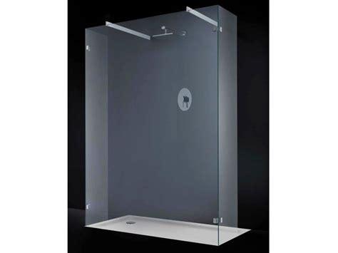 doccia open space parete per doccia in cristallo open space f06