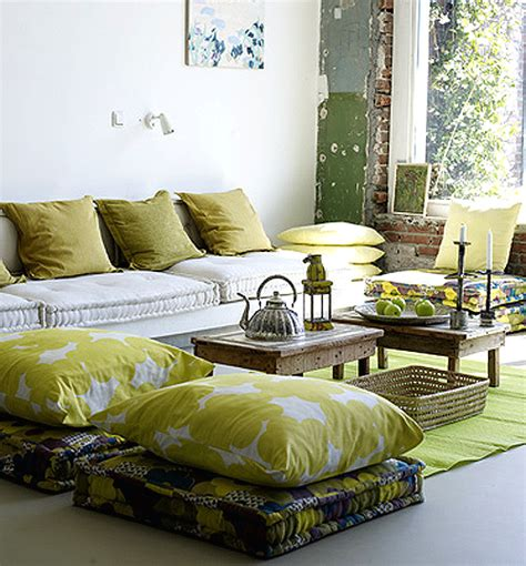 floor seating living room feng shui interior design floor pillows the tao of dana