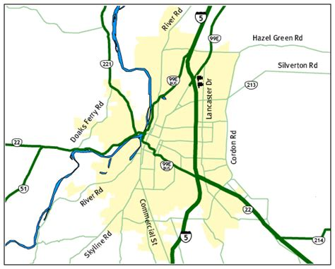 oregon road conditions map salem oregon road and traffic cams