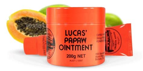 Lucas Papaw Ointment 25gr Original lucas papaw ointment contains 4 per cent fruit and 96 per