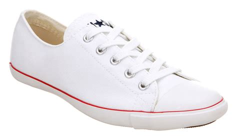 Coverse Womens womens converse ct lite ox optical white trainers shoes ebay
