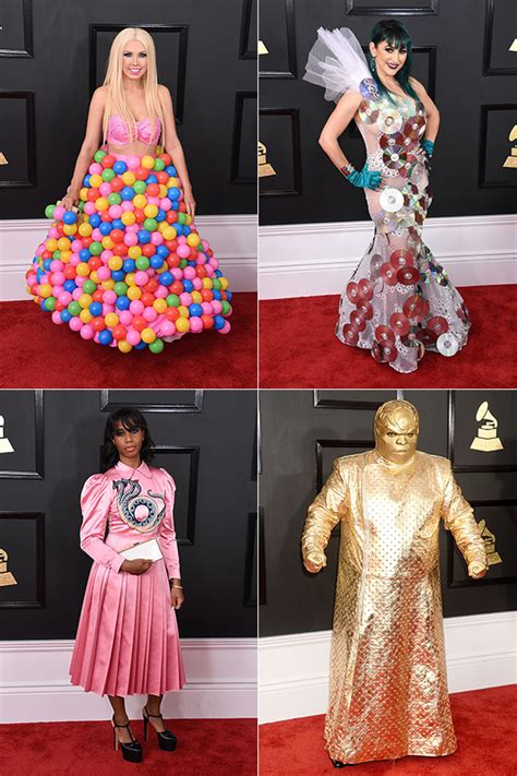 worst grammy photos grammys worst dressed the mess looks on the