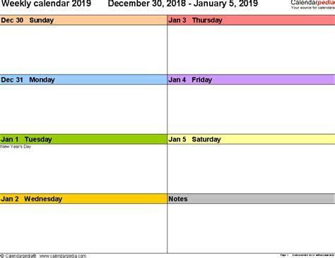 weekly excel planner free download weekly family schedule template