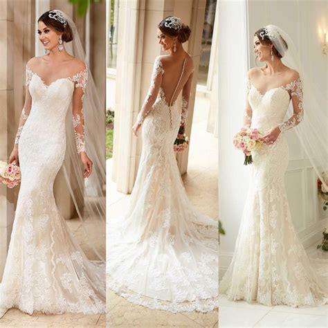 places that buy back wedding dresses modern dresses new arrival sheer back mermaid