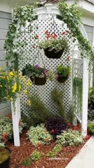 Thin Trellis Learn How To Give Your Small Narrow Garden Bed A Makeover