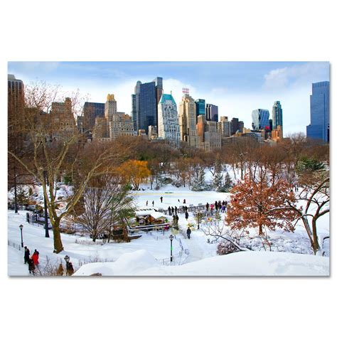 wollman rink in central park new york art print mp 1142