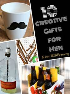 creative homemade gifts for men allternativelearning
