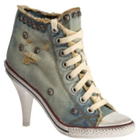 high heels converse new 2012 womens converse high tops and high heels
