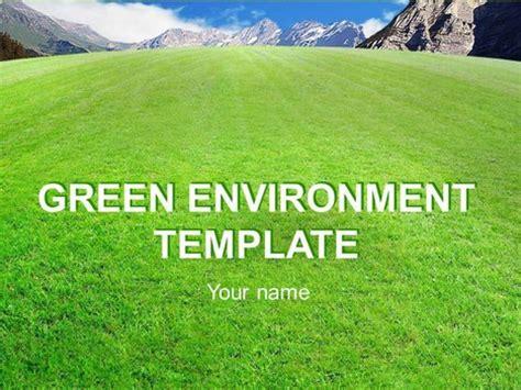 environment template green environment template