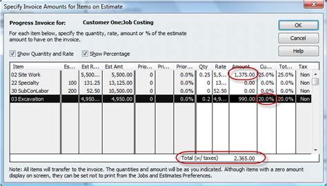 Quickbooks For Contractors Tip Basics Of Progress Invoicing Quickbooks For Contractors Blog Line Item Invoice Template