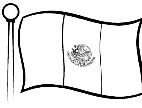 mexico flag coloring page nice mexican flag coloring pages coloringpagehub