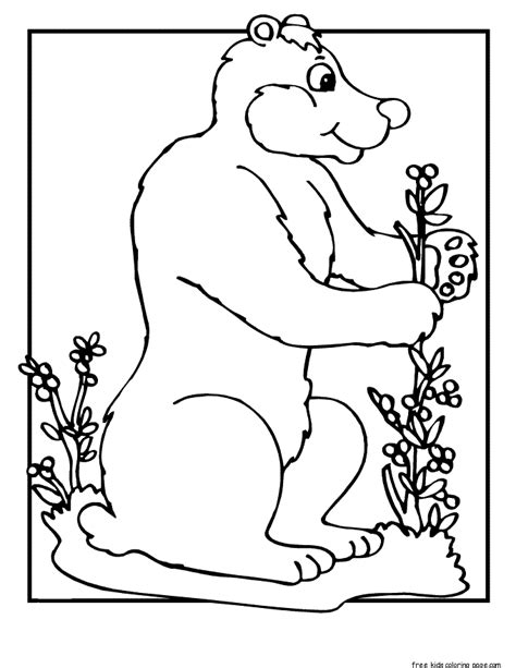 printable coloring pages woodland animals printable forest animals coloring page free