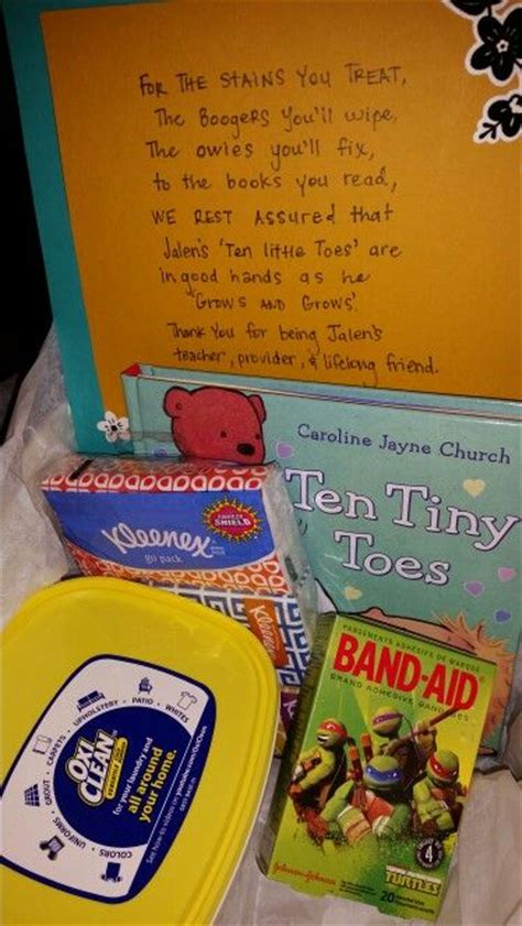 daycare provider christmas present 21 best provider appreciation day images on appreciation
