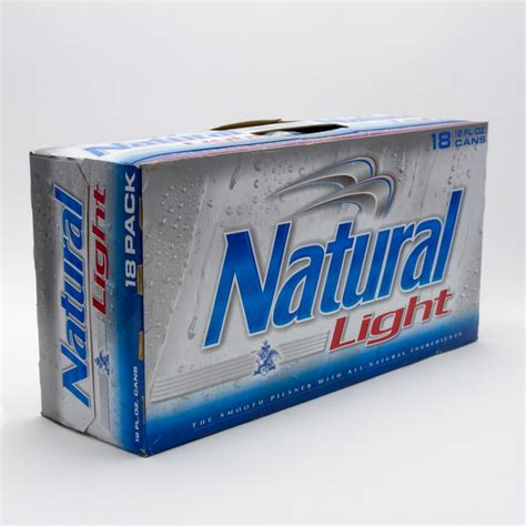 18 pack of light light 12oz can 18 pack wine and