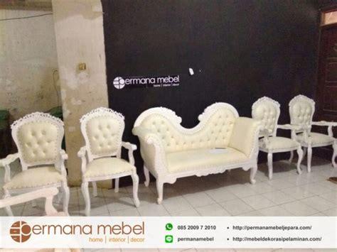 Kursi Sofa Pelaminan kursi pelaminan ukir minimalis putih mebel dekorasi