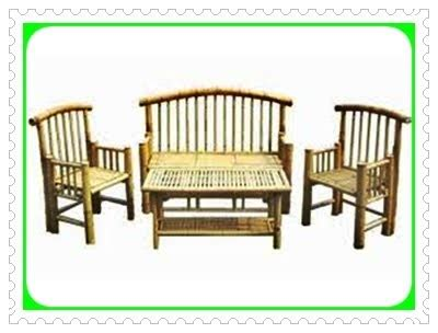 Kursi Bambu Sederhana kursi meja teras bambu karya bambu agis nr