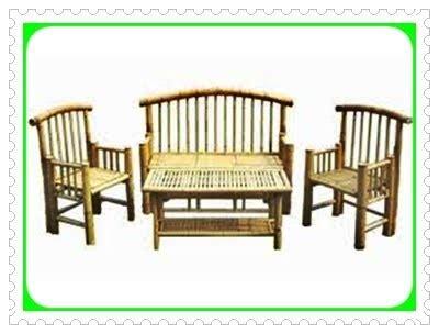 Kursi Bambu Di Banyuwangi kursi meja teras bambu karya bambu agis nr