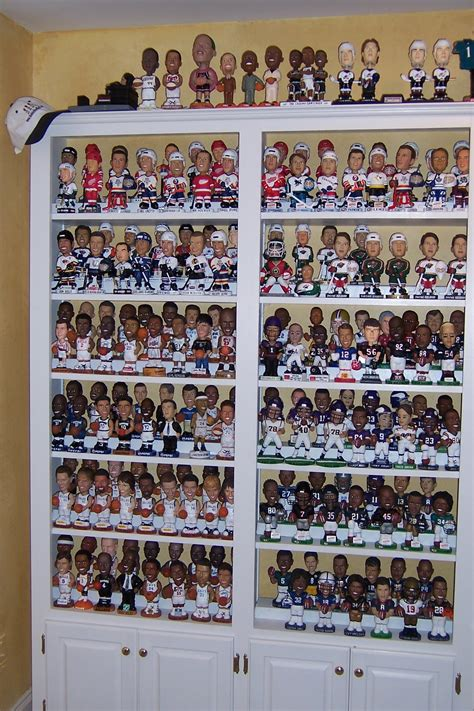 bobblehead shelves s collections