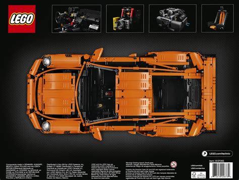 Aufkleber 3b Lego Porsche by Technic 42056 Porsche 911 Gt3 Rs Brickset Lego Set