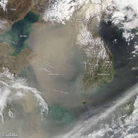 gobi desert sand and dust storms plague east asia