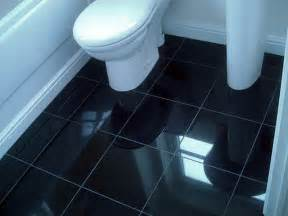 Bathroom gt bathroom tile flooring ideas gt bathroom black tile flooring