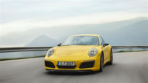 Porsche Carrera by Less Is More The New Porsche 911 Carrera T