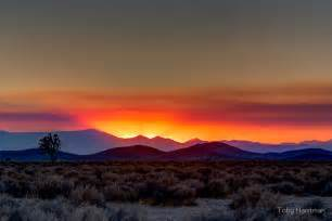 Home Decor Bakersfield Ca Quot Mojave Desert Sunset Quot By Toby Harriman Redbubble