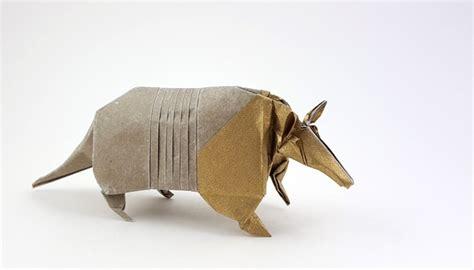 origami armadillo origami armadillos gilad s origami page