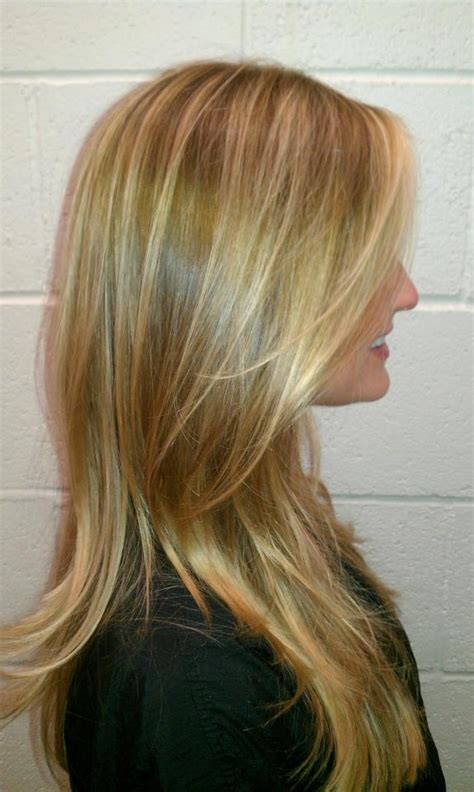 gold lowlights on hair pinterest discover and save creative ideas