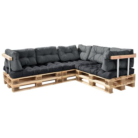 europaletten polster en casa 174 palettenkissen in outdoor paletten kissen sofa