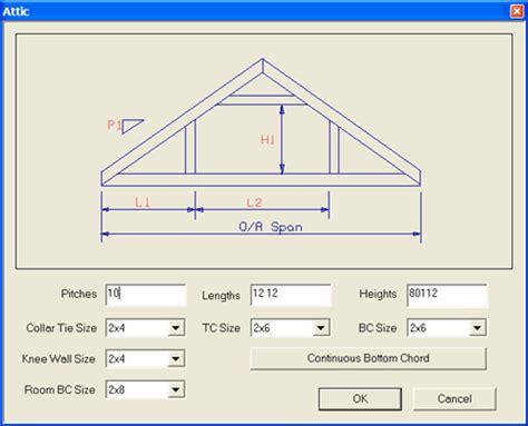 Attic Truss Room Size unique attic truss design 11 room in attic trusses dimensions newsonair org