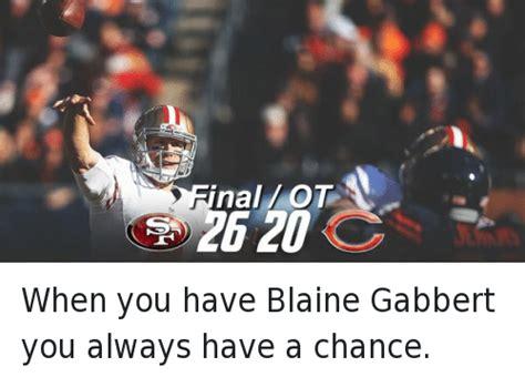 Blaine Gabbert Meme - 25 best memes about blaine gabbert football nfl and