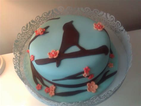 bird cake decoration a little sweet on the side