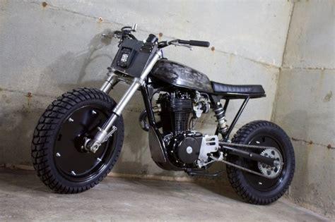 Suzuki Scrambler Motorcycle Suzuki Savage Scrambler By Droog Moto Bikebound