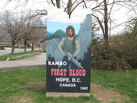 rambo film location quot john rambo cut out in hope bc www hopebc ca quot explorebc