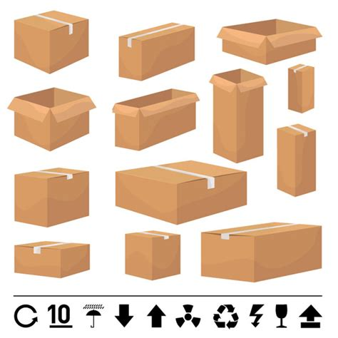 pattern box ai and carton box template vector free vector 4vector