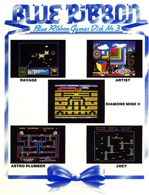 Gamis Ribboni Wolvi blue ribbon disk number 3 computing history