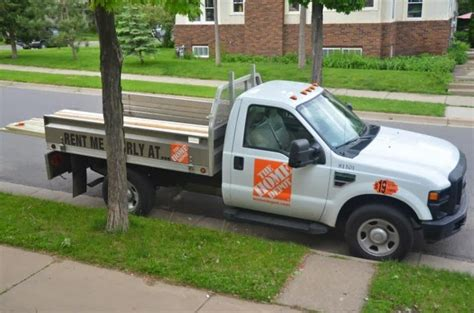 home depot truck rental rates