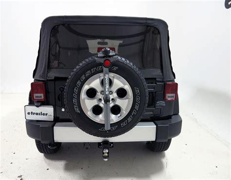 Jeep Spare Tire Lock Jeep Tj Sportrack 3 Bike Rack Spare Tire Mount Fixed