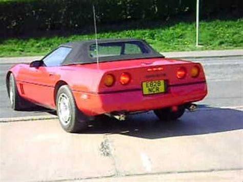 chevrolet corvette c4 acceleration