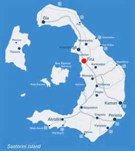 Fira map fira santorini map