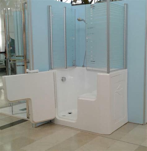 vasche da bagno per disabili vasca doccia per anziani e disabili ad accesso diretto