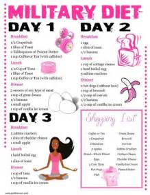 About military diet on pinterest army diet 3 day diet and 10 pounds