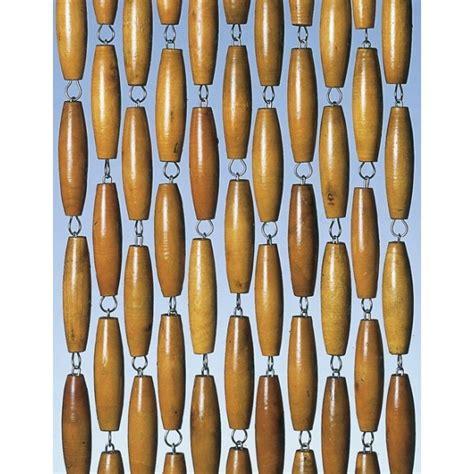 rideau de porte provence b 226 tonnets de bois 100x220 cm