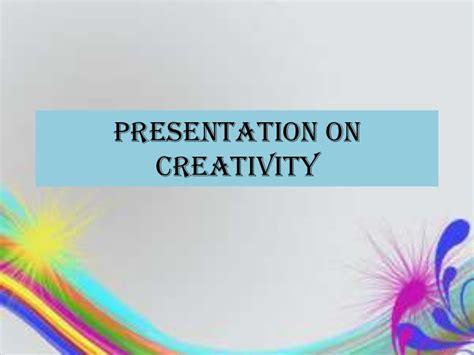 Mba Presentation Slides by Creativity Ppt Bec Doms Mba